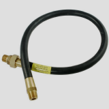 Gas Cooker Hose 1/2 inch Male Iron Union Type - 4 foot - 07000950